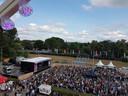 In 2019 was het met 10.000 bezoekers dringen geblazen op het Deventer Stadsfestival. Organisator Maurice Endeman: ,,Dit is niet zomaar een muziekfeestje dat je in een maand tijd in de steigers zet.''