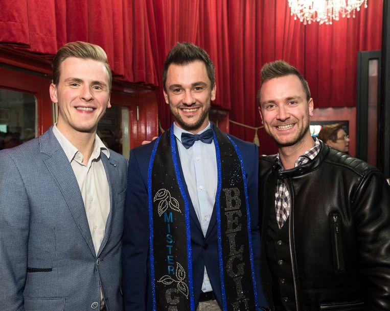 Mister Gay Belgium was ook van de partij.
