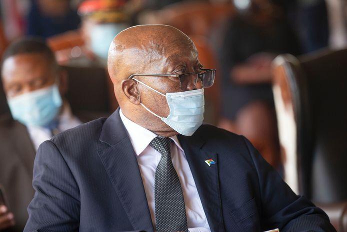 Archiefbeeld. Jacob Zuma, voormalig president van Zuid-Afrika.