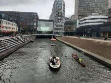 Topdrukte op het water op eerste Utrechtse 'Singeldag'
