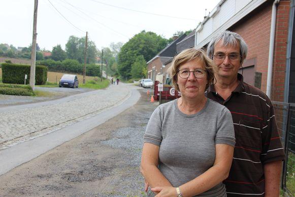 Linda De Vos en Jean-Marie Potteau hopen op een goede oplossing voor de Eikenberg.
