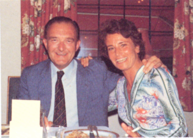 Paul Janssen en zijn vrouw Dora.  Beeld Janssen Pharmaceutica