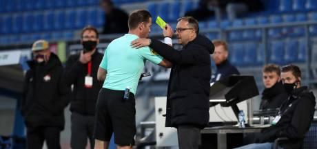 Petrovic: 'Makkelie gaf mij geel, normaal is dat rood'
