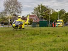 Man zwaargewond bij val met snorscooter in Roosendaal