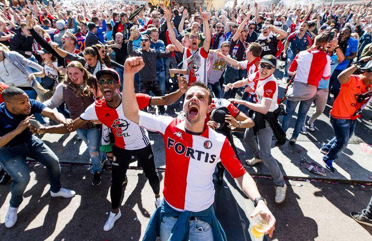 In 2017 werd Feyenoord nog eens kampioen van Nederland.