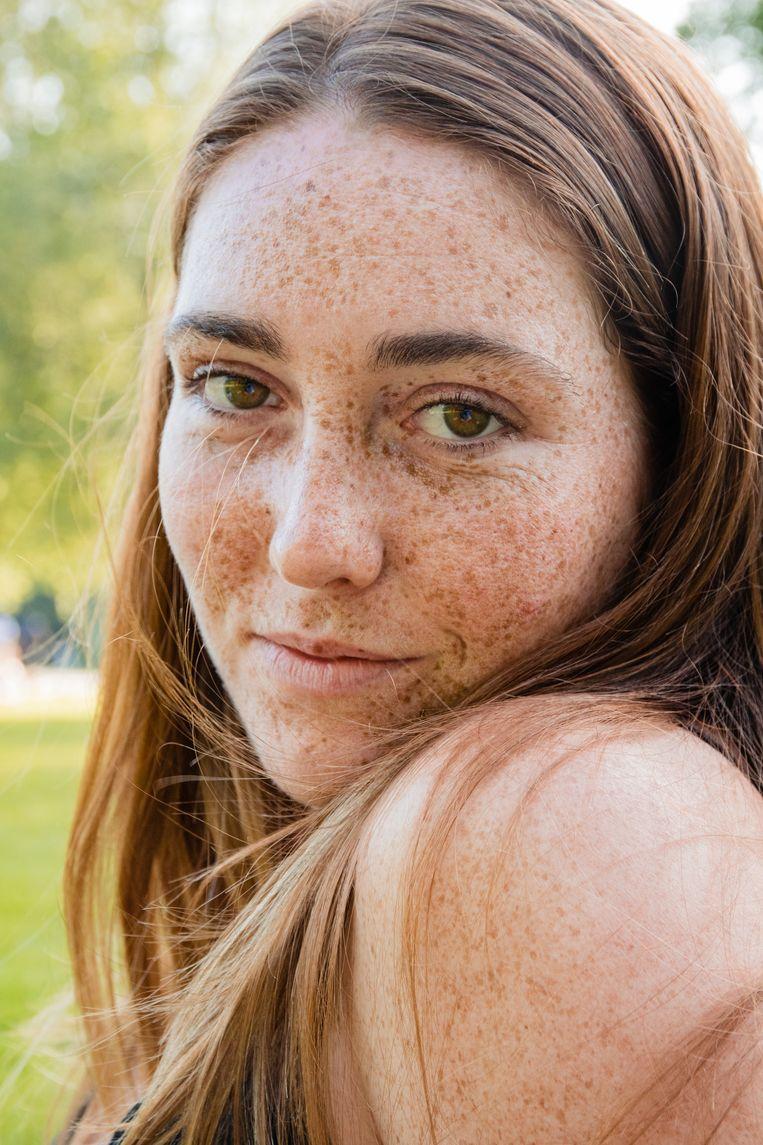 Julie (24), Vondelpark. Beeld Saskia van den Boom