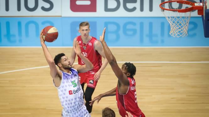 Antwerp Giants gaat onderuit tegen leider Bergen en ziet Aalst naast zich op de derde plaats komen