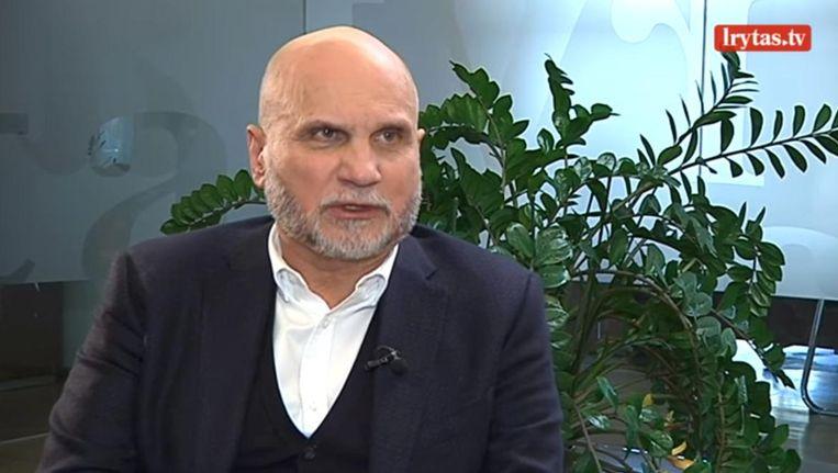 Gedvydas Vainauskas, intussen voorzitter af. Beeld Twitter