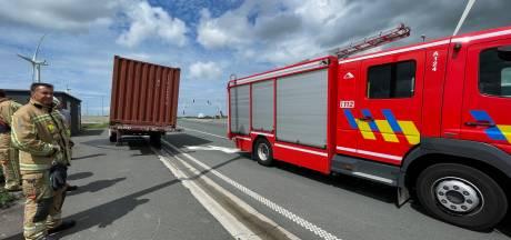 Brandweer opgeroepen voor voertuigbrand in Zeebrugse haven