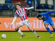 Willem II-basisdebutant Wesley Spieringhs: 'Vooraf ben ik altijd wel zenuwachtig'
