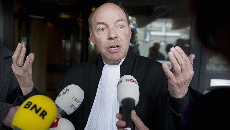 Robert M.'s advocaat Wim Anker. Beeld ANP