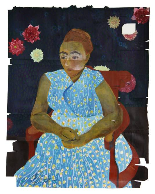 Lotte van Lieshout, After Van Gogh's  'La Berceuse'