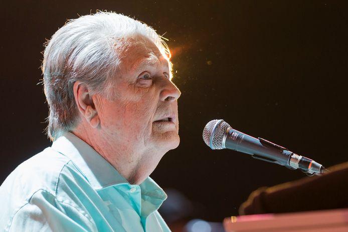 Brian Wilson tijdens zijn optreden op het Montreux Jazz Festival in 2017.