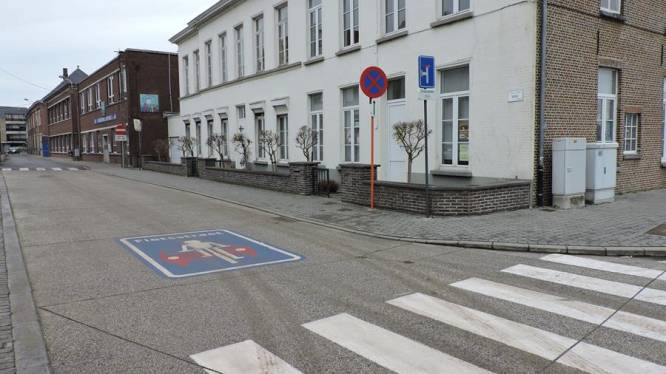 Kaaistraat maand afgesloten door verbouwingswerken basisschool Leieparel