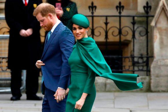 Harry en Meghan lieten de monarchie achter zich.