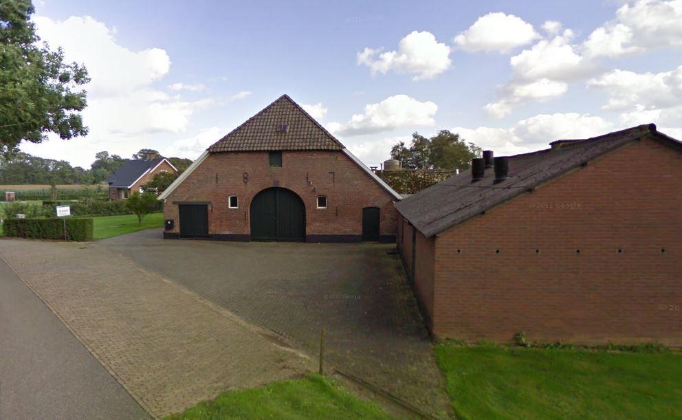 De boerderij aan de Polweg in Wichmond.
