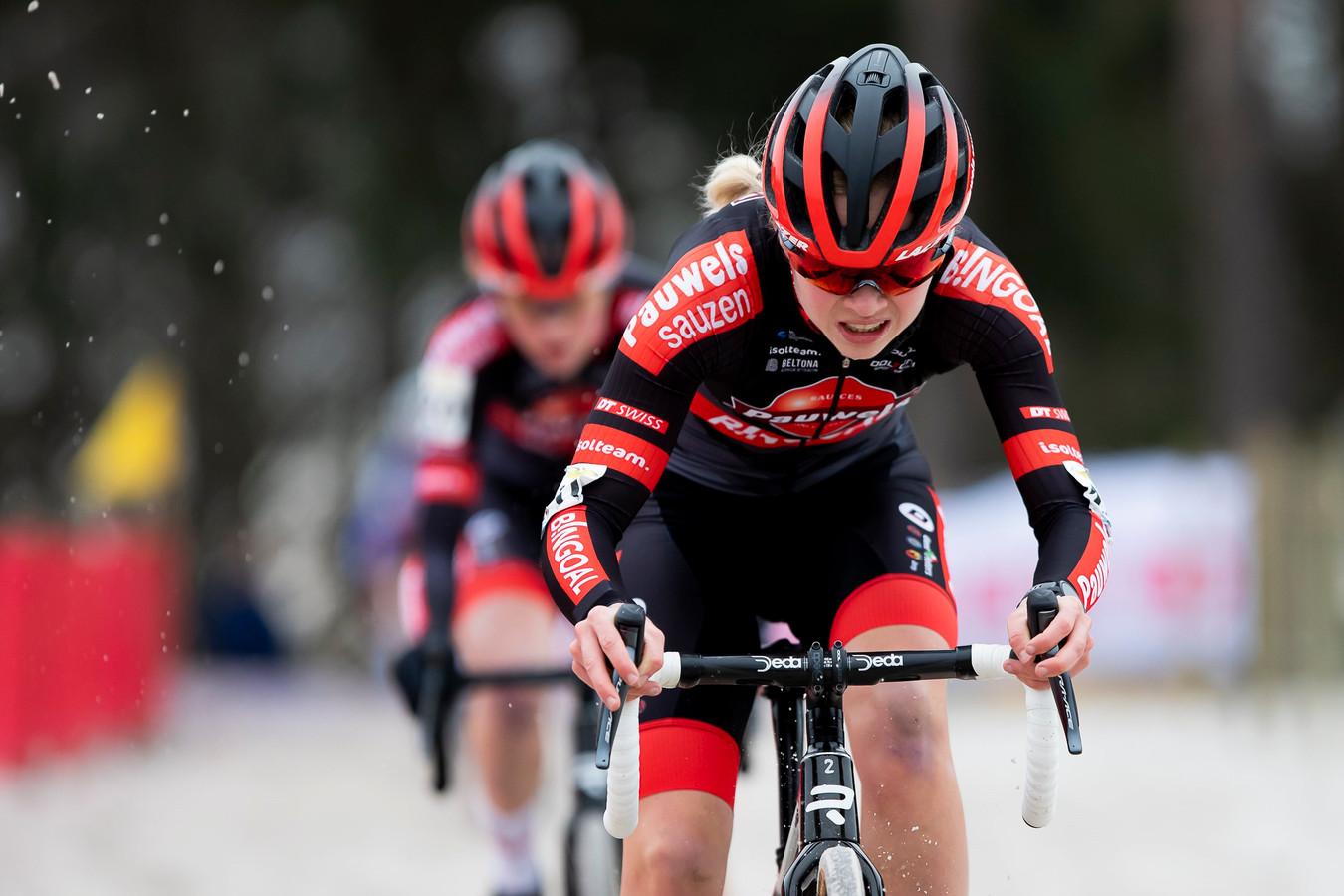 Laura Verdonschot had het dit seizoen wat moeilijk.