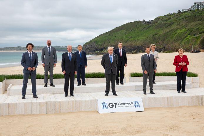De G7, de top van de zeven rijkste industrielanden, vond dit weekend plaats in Cornwall.
