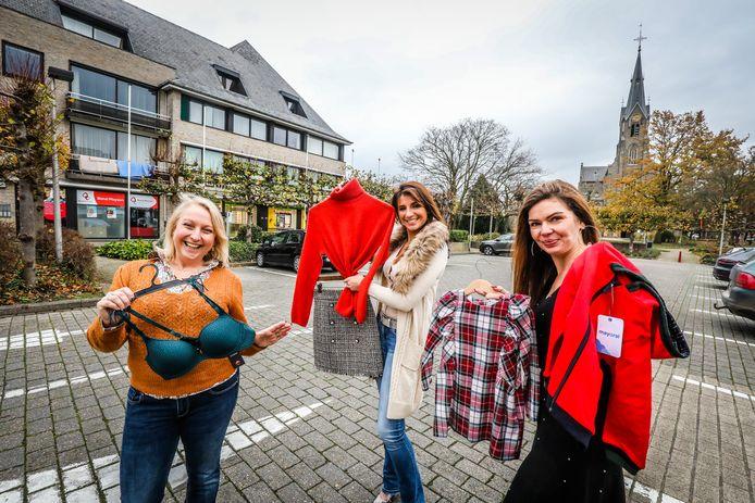 Handelaars St Kruis slaan de handen in elkaar: Elke Van De Cappelle, Marilynn Buyck, Sara De Strooper