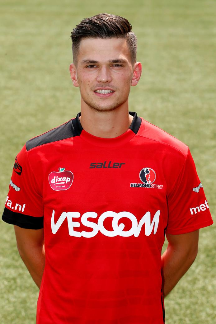 Het is nog twijfelachtig of Bart Meijers de wedstrijd tegen Jong PSV haalt.