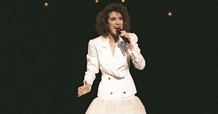 Celine Dion in 1988.