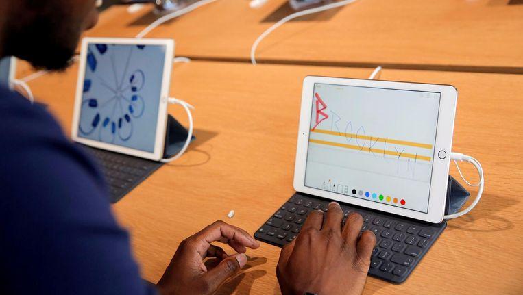 Apple's iPad Beeld reuters