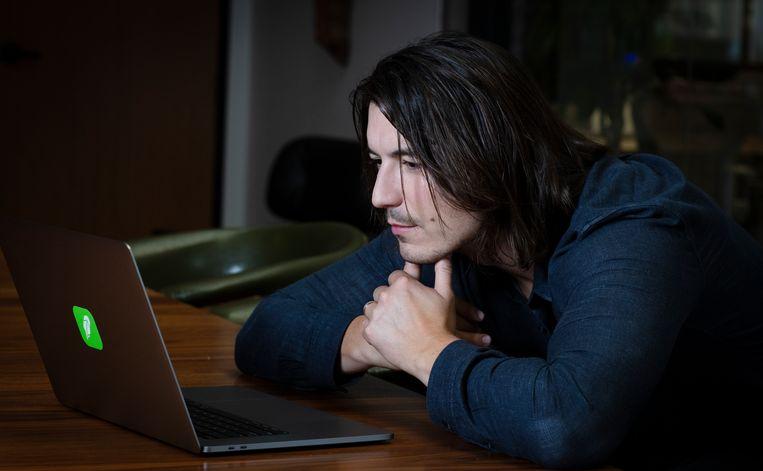 Vlad Tenev, CEO en mede-oprichter van Robinhood Beeld Getty Images