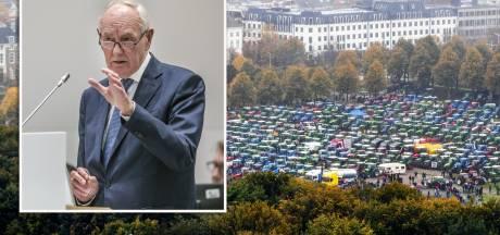 Burgemeester Remkes: 'Protest zonder grote incidenten verlopen, maar de overlast was groot'