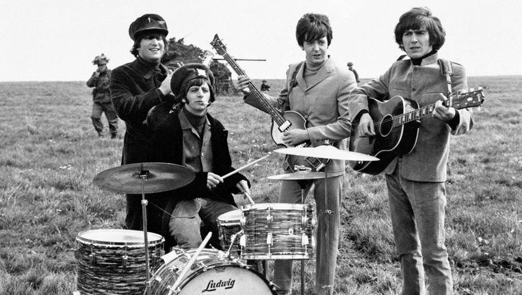 The Beatles in 1965: vlnr John Lennon, Ringo Starr, Paul McCartney en George Harrison. Beeld photo_news