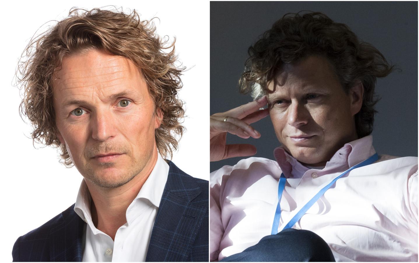 Rik Nijkamp (l.) en Ernst van Dam.