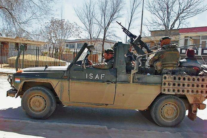 Militairen van het korps Commandotroepen op patrouille in Afghanistan. Foto ter illustratie.