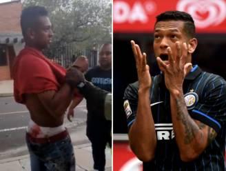 Bebloede Fredy Guarín (ex-Inter) aangehouden na gevecht met ouders