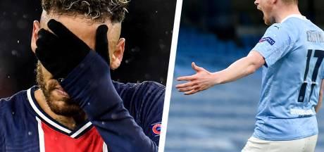 """La """"face sombre"""" de Neymar et le """"pathétique"""" PSG dézingués par les médias, le """"héros belge"""" De Bruyne comparé à Tiger Woods"""