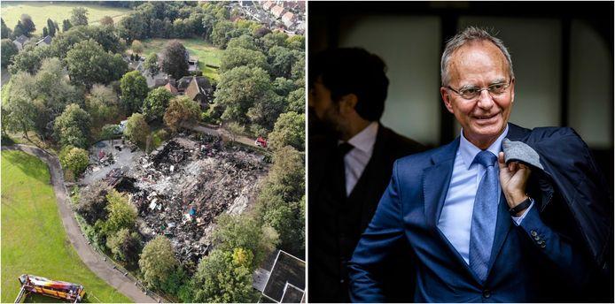 Een dag na de brand is door dronebeelden de schade aan de Bowlingboerderij pas echt duidelijk. En Henk Kamp volgt Ank Bijleveld op als Minister van Defensie.