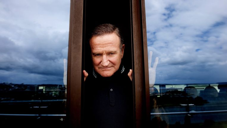 Robin Williams in 2011. Beeld epa