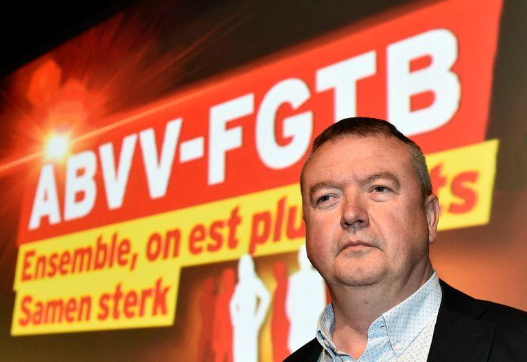 ABVV-voorzitter Robert Vertenueil.