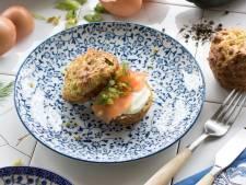 Wat Eten We Vandaag: Hartige courgettemuffins met gerookte zalm