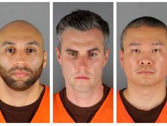 Proces tegen drie ex-agenten in moordzaak George Floyd uitgesteld tot 2022