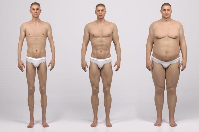 Nederlanders worden steeds langer en dikker.