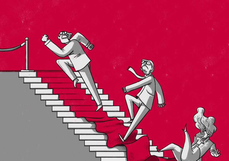 Harder werken als er een reorganisatie aankomt? Een slecht plan Beeld Matteo Bal