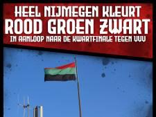 Oproep NEC-fans: kleur Nijmegen rood, groen en zwart