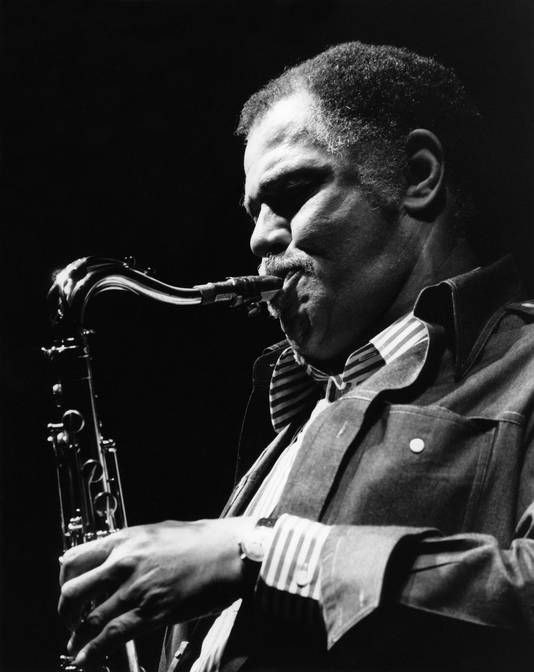 De boomlange Dexter Gordon was 'laid back'.