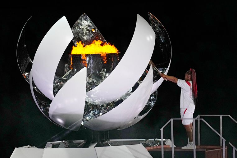 Tennisster Naomi Osaka. Beeld AP