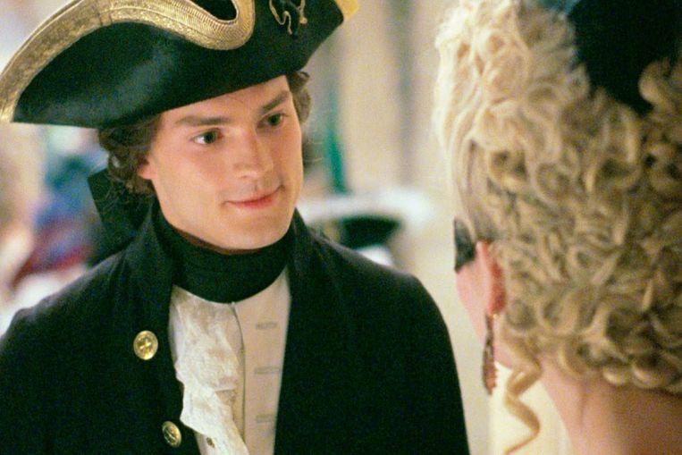 In 'Marie Antoinette', Jamie Dornans filmdebuut in 2006. Beeld rv