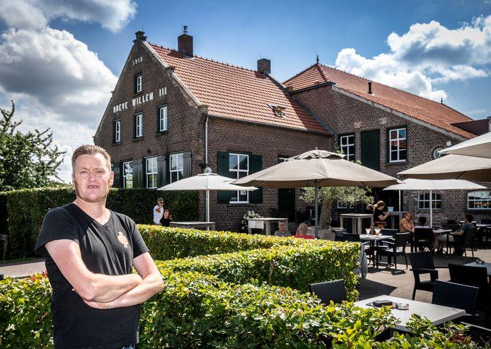 Stephan Krekels, mede-eigenaar van ijsboerderij Hoeve Willem III in Helenaveen.