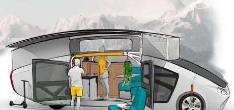 Studenten van Solar Team uit Eindhoven bouwen zonnehuis op wielen