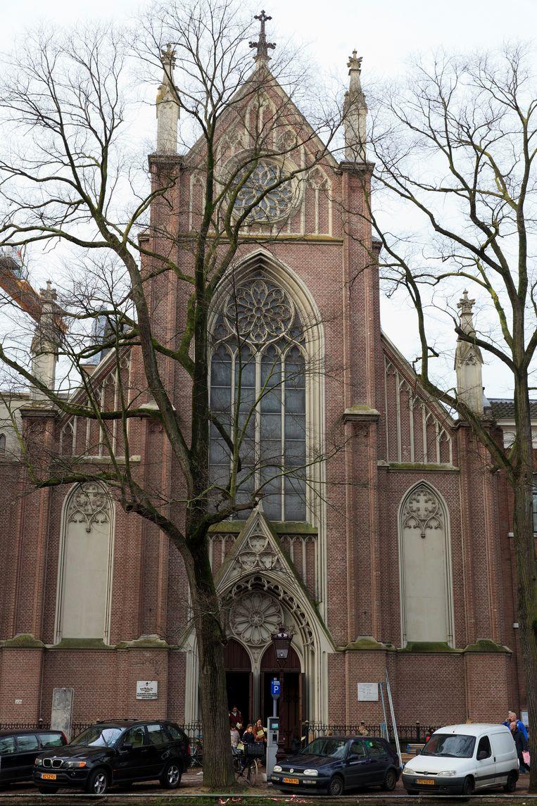 Onze Lieve Vrouwekerk op de Keizersgracht. Beeld Roy Del Vecchio