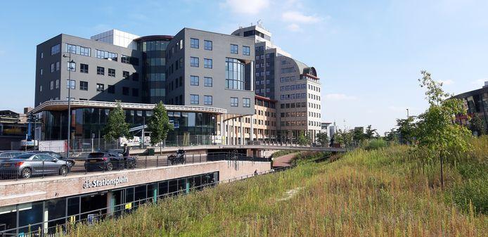 De nieuwe look van de Leeuwenbrug in het Deventer stationsgebied.