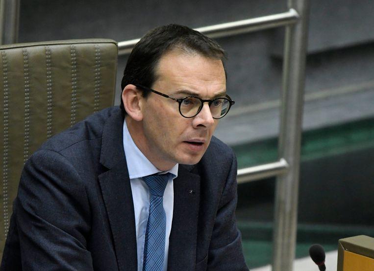 Wouter Beke, Vlaams minister van Welzijn (CD&V). Beeld Photo News