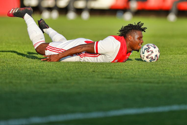 Ajax-speler Lassina Traoré Beeld Pro Shots / Stanley Gontha